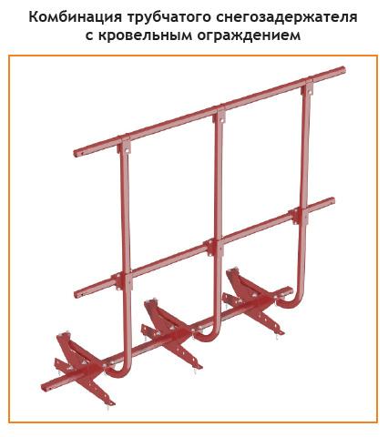 инструкция по монтажу трубчатых снегозадержателей - фото 8