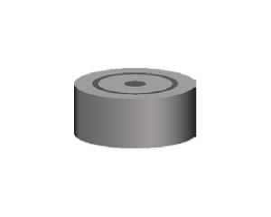 Уплотнитель из пластиката h=14 мм