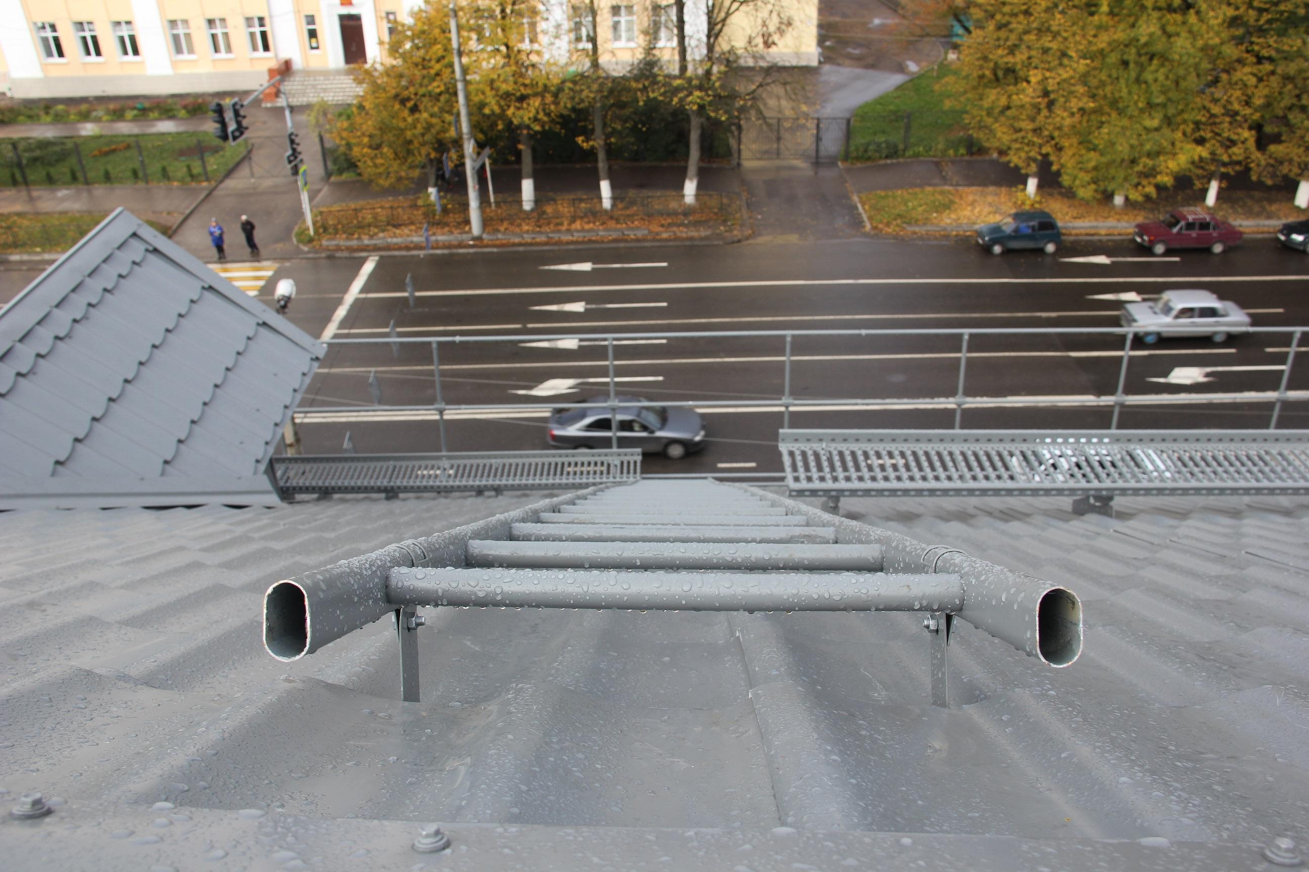 Как сделать трап для крыши
